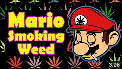Mario Smoking Weed